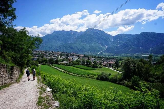 Wandern in den Fleimstaler Alpen