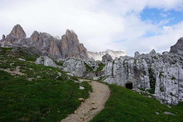Kriegspfade Dolomiten