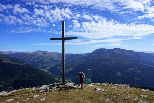 Gipfel Sarntaler Alpen, Etappe 4
