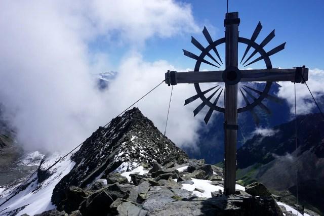 Kreuzspitze Gipfelkreuz
