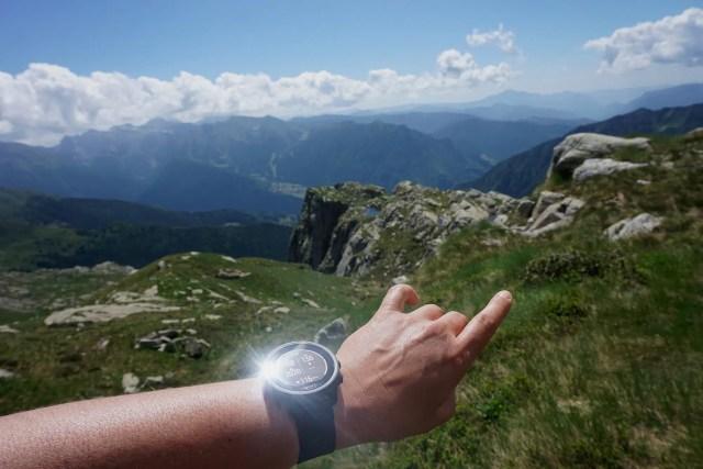 GPS Uhr für Wanderer