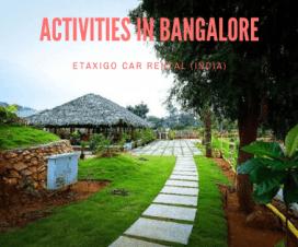 Adventure Activities in Bangalore
