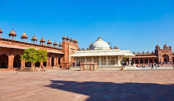 Things To Do In Agra-Jama Masjid
