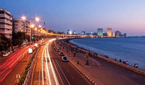 Romantic Places in Mumbai-Marine Drive