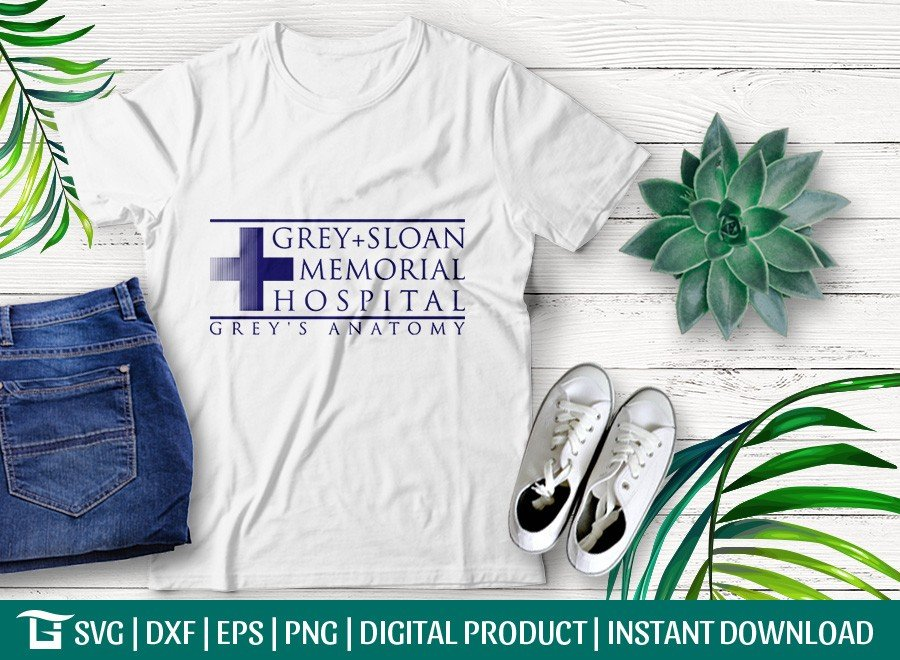 Grey+Sloan Memorial Hospital SVG | T-shirt Design