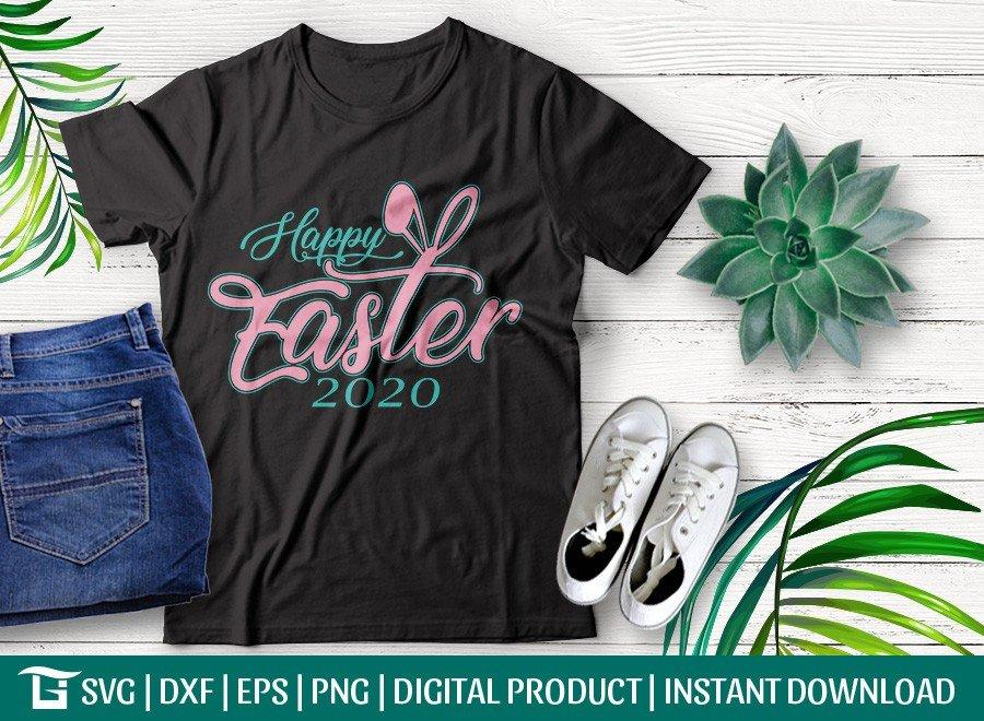Happy Easter SVG | Easter 2020 SVG