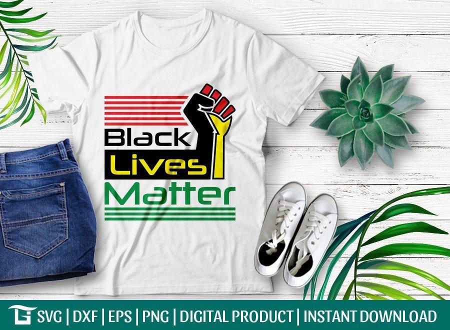 Black Lives Matter SVG Cut File | Woman Power T-shirt