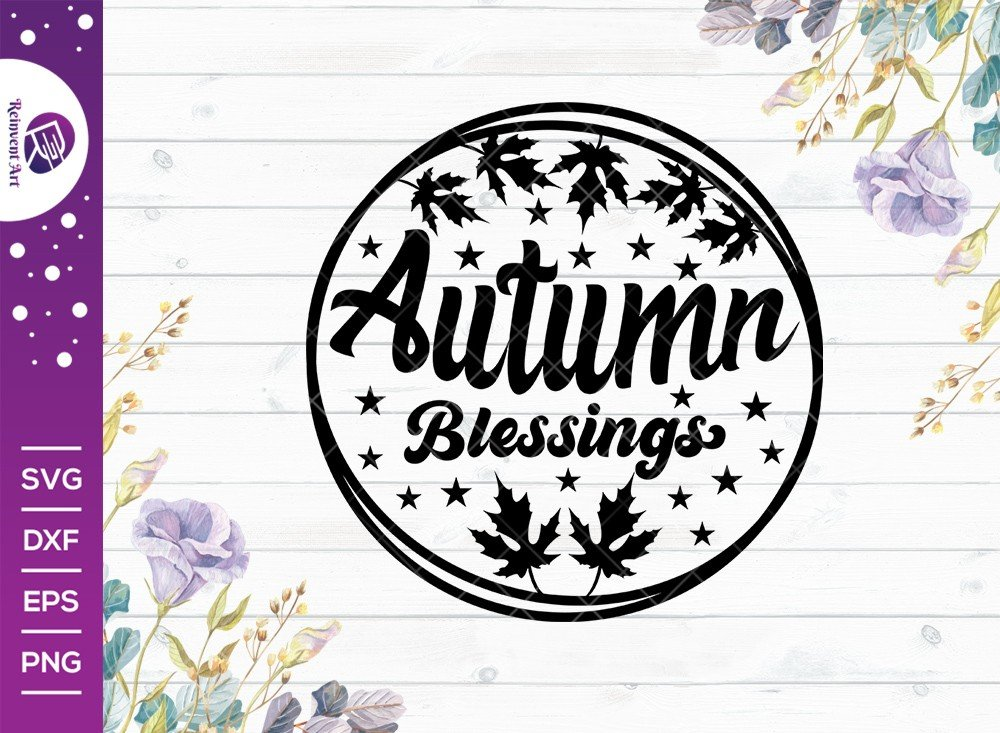Autumn Blessings SVG Cut File | Black Lives Matter T-shirt