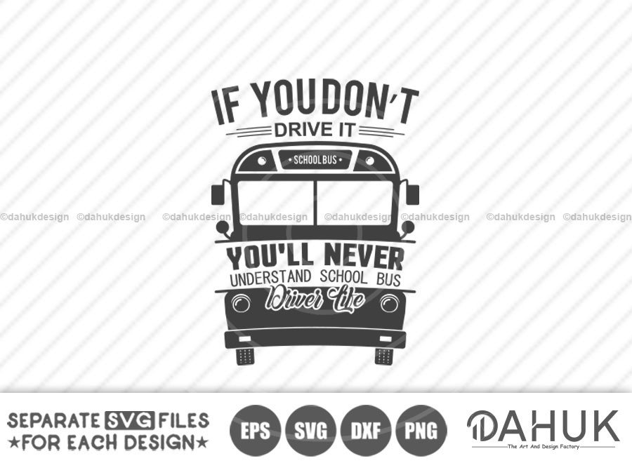 School Bus Driver Life svg, Bus Boss svg, Back To School svg