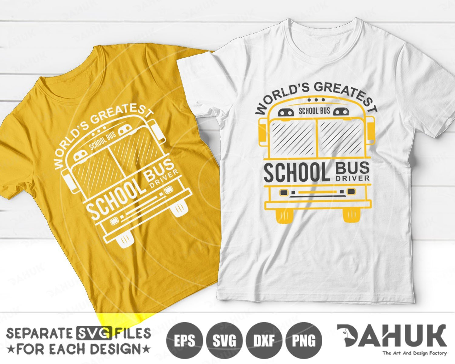 World's Greatest School Bus Driver | Back To School SVG