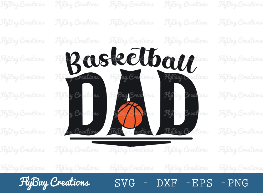 Basketball Dad SVG Cut File | Dad Svg