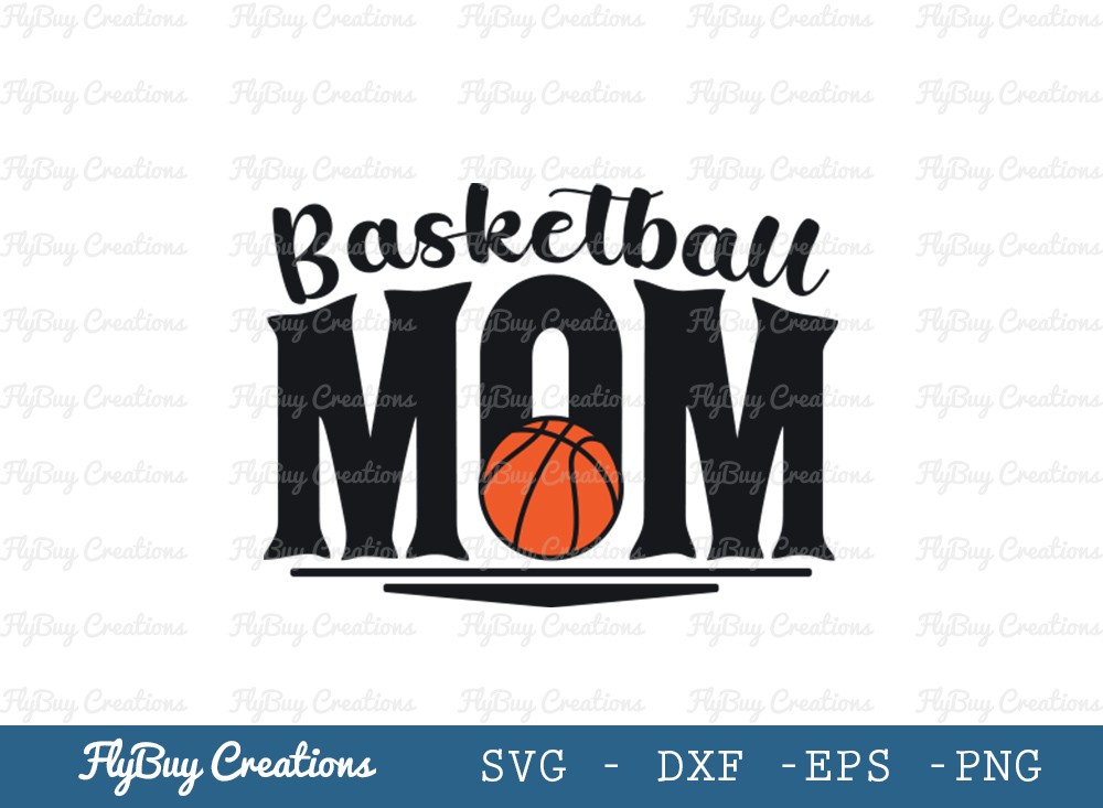 Basketball Mom SVG Cut File | Mom svg