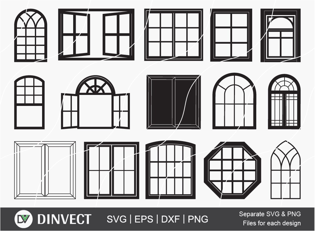 Windows svg, Windows bundle, Casement svg