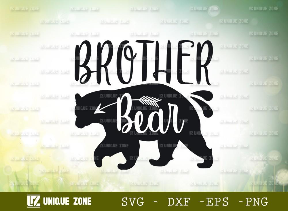 Brother Bear SVG Cut File | Animal Svg