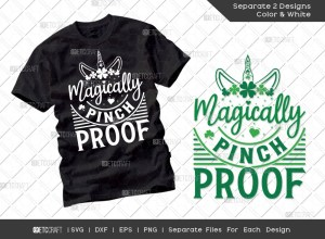 Magically Pinch Proof SVG | St Patricks Day Svg