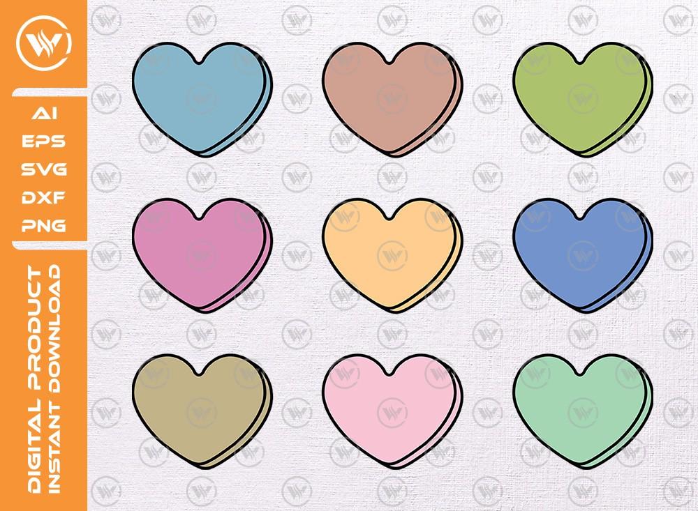 Love SVG | Valentine's day SVG | Love shape
