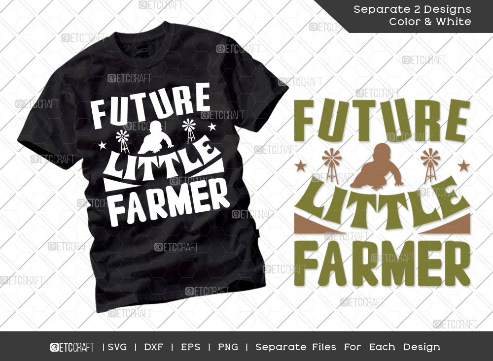 Future Little Farmer SVG Cut File | Farmer Svg