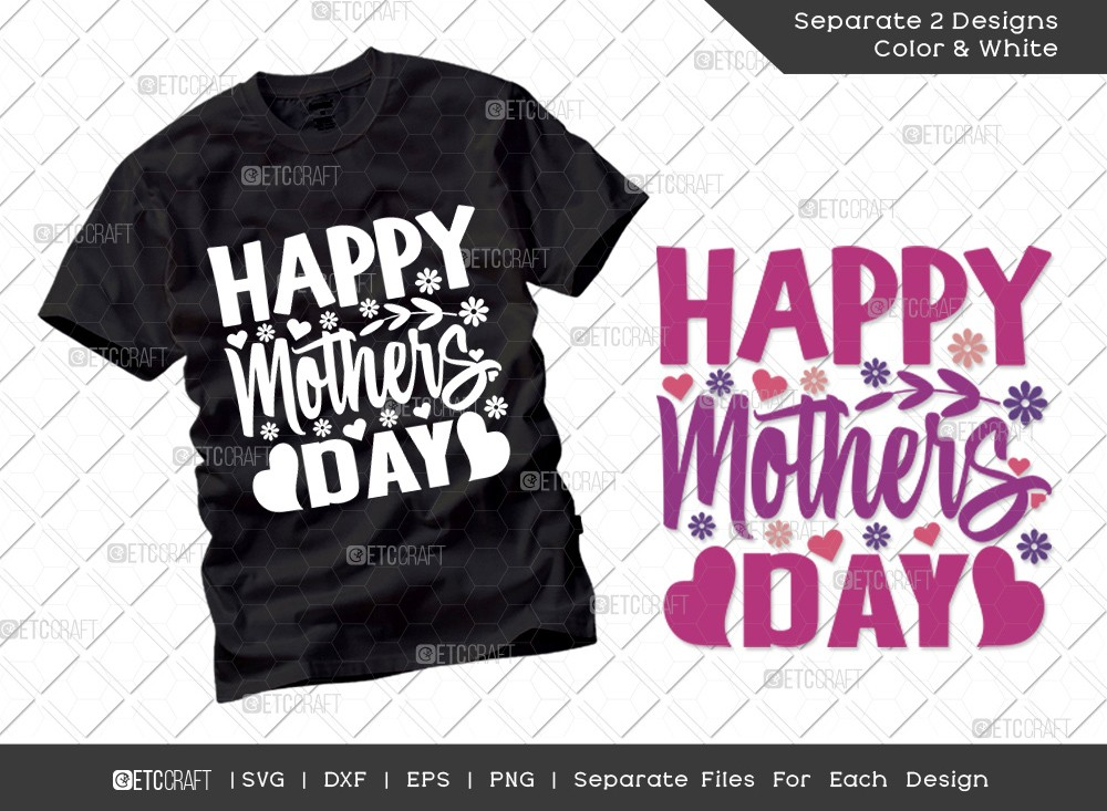 Happy Mothers Day SVG Cut File | Mom Svg