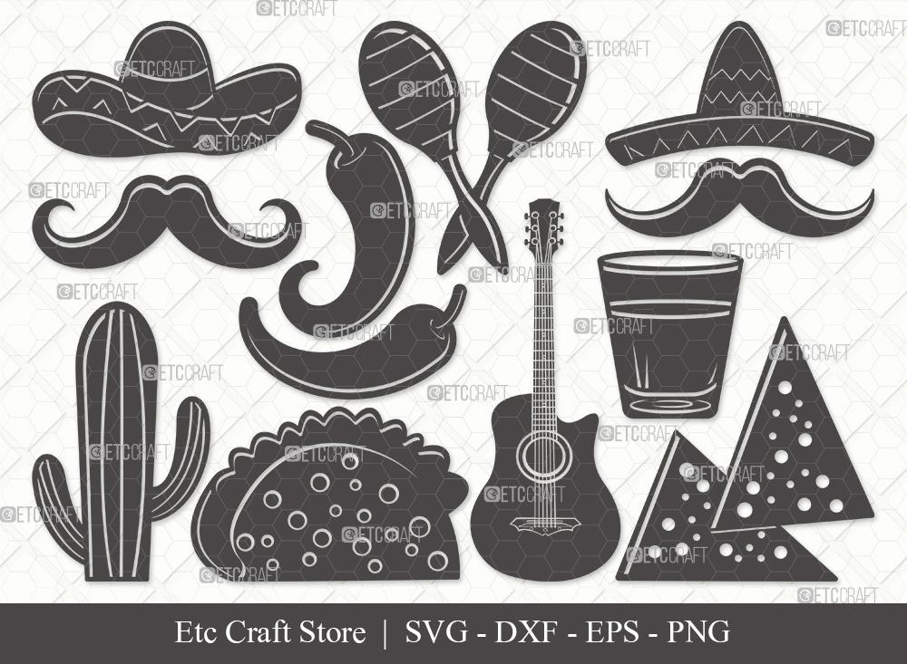 Mexican Silhouette SVG | Cinco De Mayo Svg