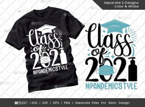Class of 2021 Pandemic Style SVG | Senior Svg