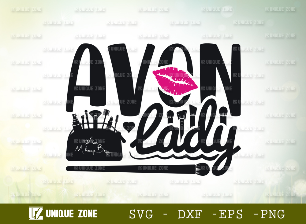 Avon Lady SVG | Avon Makeup Brand SVG