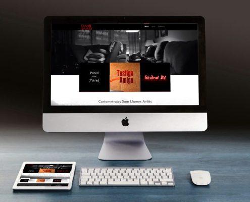 Diseño Web Cortometrajes