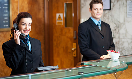 hospitality website design uae