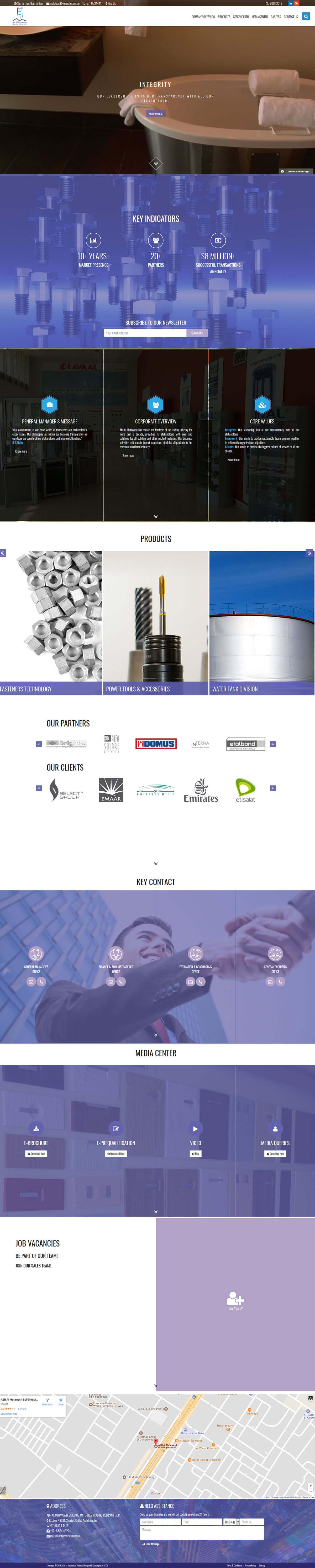 dubai website development