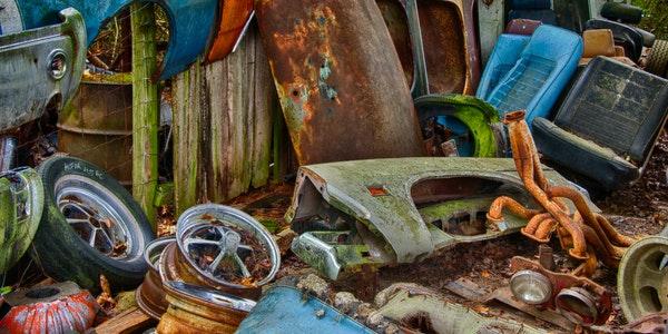Website Design And Development For Automobile Scrap Company