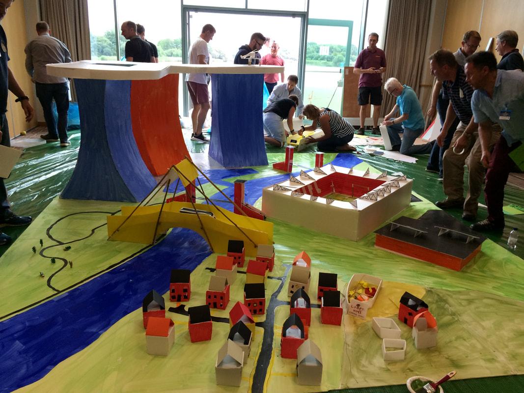Indoor Team Building Events