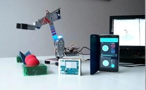 ARDUINO IOT ROBOTIC ARM