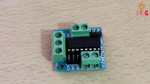 L293D Motor driver module