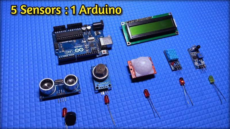 Multiple Sensors with Arduino
