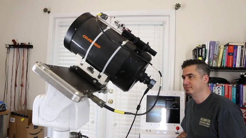 GOTO Telescope using Raspberry pi