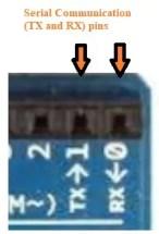 UART Pins of Arduino Leonardo