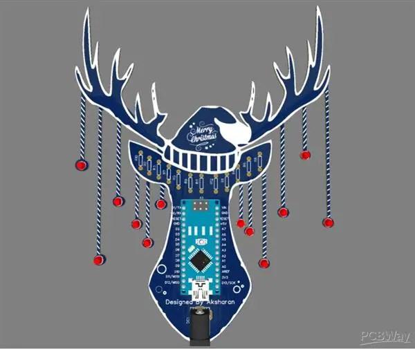 Reindeer PCB board
