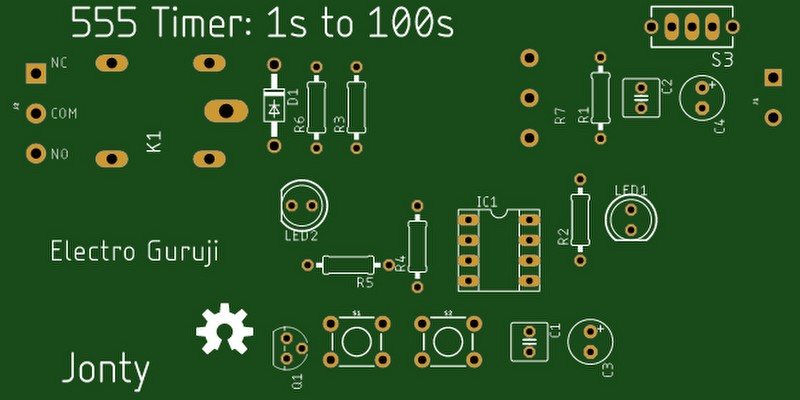 PCB designed in software