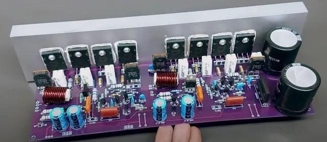 400W Stereo Audio Amplifier board