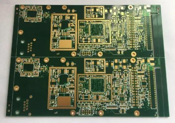 An HDI PCB board