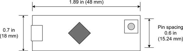 Arduino Micro dimensions