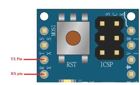 Arduino Micro TX and RX pins