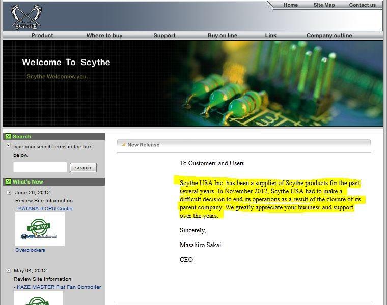 Scythe notice