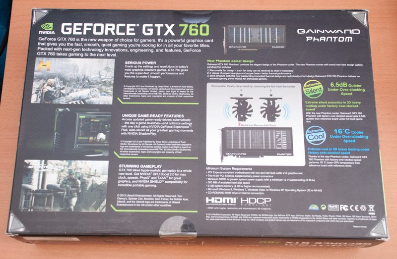 Gainward GTX 760 Phantom (2)