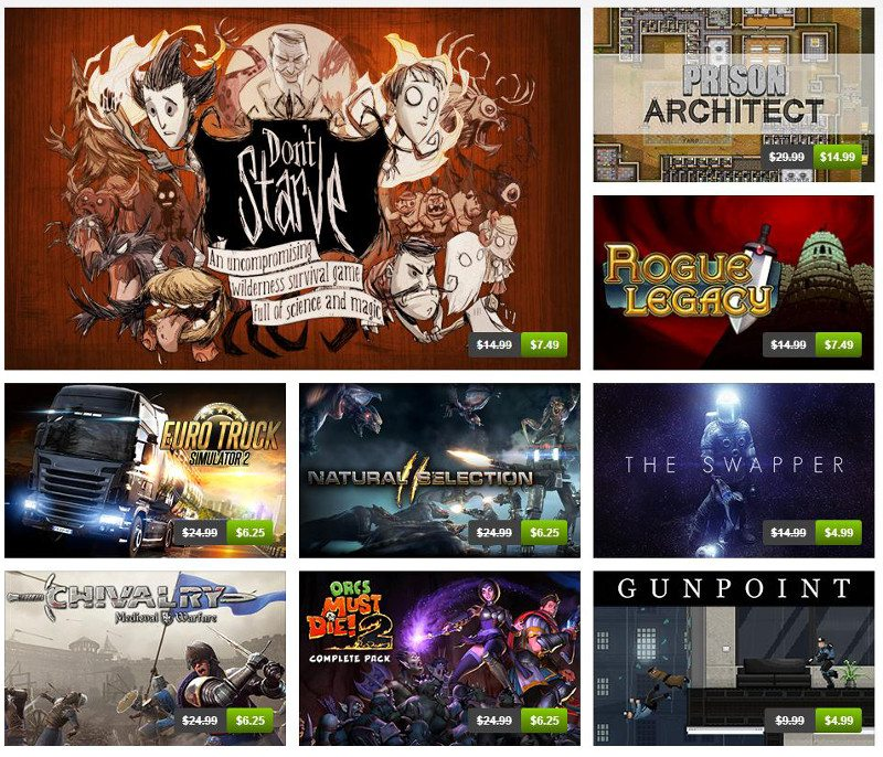 Debut Humble Store