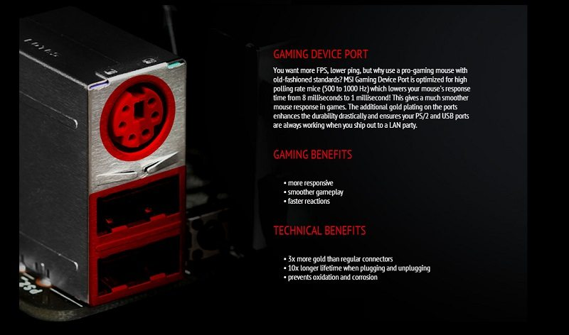 MSI Z87I Gaming AC features 3