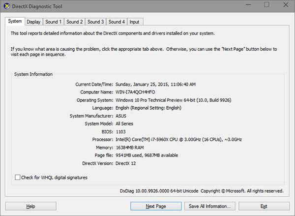 DirectX-12-API-Windows-10