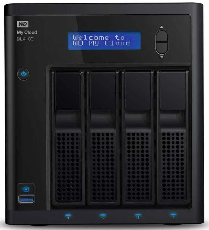 wdfMyCloud_DL4100front