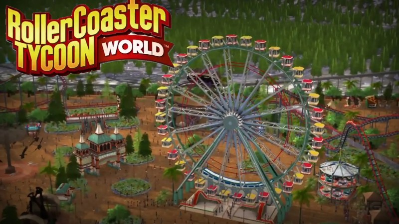 RollerCoaster Tycoon World 2