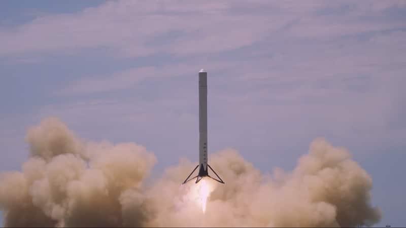 spacex rocket 4k