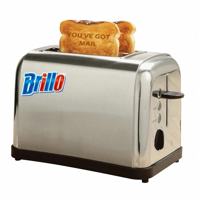 brillo toaster